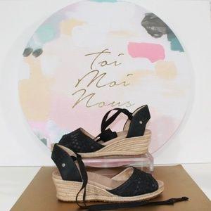 UGG Australia Delmar Espadrille Sandals, 7.5